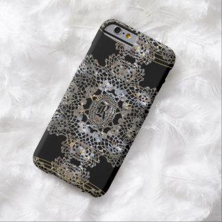 Aristocratic Monogram Slim 6/6s Barely There iPhone 6 Case