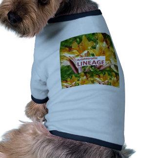 AristocraticLINEAGE: Código secreto de la FRASE de Camisas De Perritos