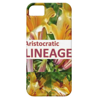 AristocraticLINEAGE : Secret fun PHRASE Code iPhone SE/5/5s Case