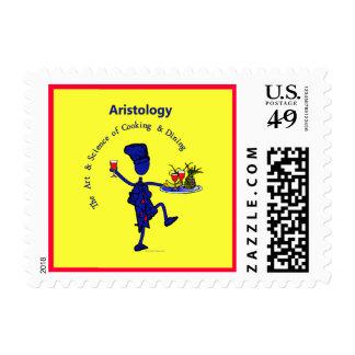 Aristology Art of Cooking Postage Stamp