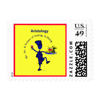 Aristology Art of Cooking Postage Stamp