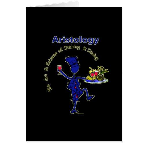 Aristology Gourmet Art of Cooking Card