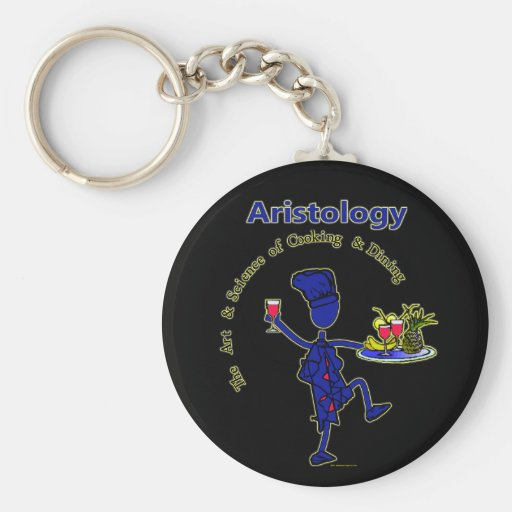 Aristology Gourmet Art of Cooking Keychains
