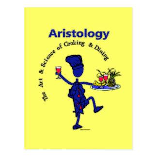 Aristology Gourmet Art of Cooking Postcard