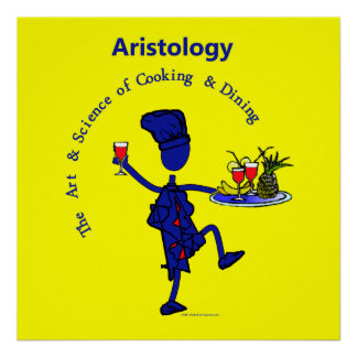 Aristology Gourmet Art of Cooking Print