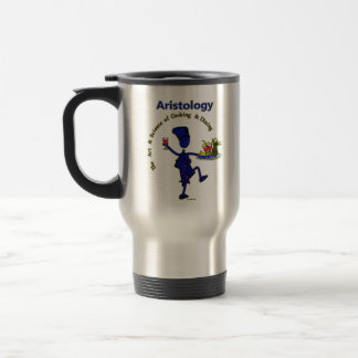 Aristology Gourmet Art of Cooking Travel Mug