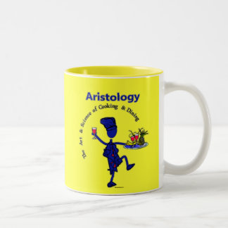 Aristology Gourmet Art of Cooking Two-Tone Coffee Mug