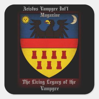 Aristos Vampyre Int'l  Square Stickers