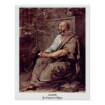 Aristóteles de Francesco Hayez Impresiones