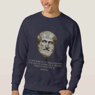 Aristóteles educaba mente suéter