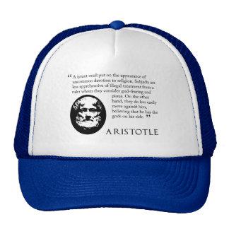 Aristóteles en tiranos. Gorra de béisbol