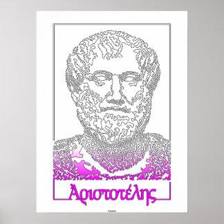 Aristóteles. Filósofo griego [015] Posters