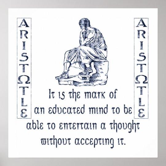 Aristóteles Póster
