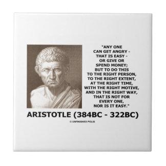 Aristóteles puede conseguir tiempo correcto azulejo ceramica