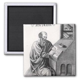 Aristotle 2 Inch Square Magnet