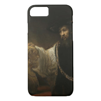 Aristotle (384-322 BC) with a Bust of Homer iPhone 8/7 Case