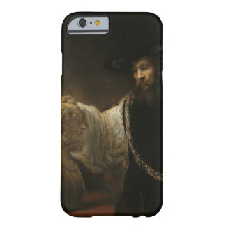 Aristotle (384-322 BC) with a Bust of Homer iPhone 6 Case
