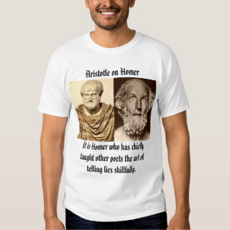 aristotle_altemps, homer, Aristotle on Homer, I... T Shirt