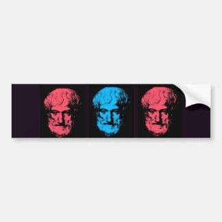 Aristotle Collage Bumper Sticker