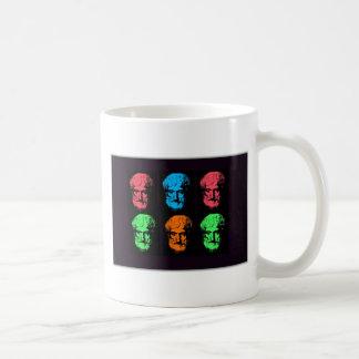 Aristotle Collage Classic White Coffee Mug