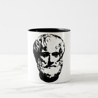 Aristotle Drinkware Two-Tone Coffee Mug