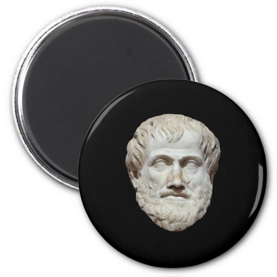 Aristotle Head Sculpture Magnet
