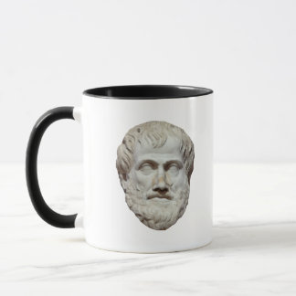 Aristotle Head Sculpture Mug