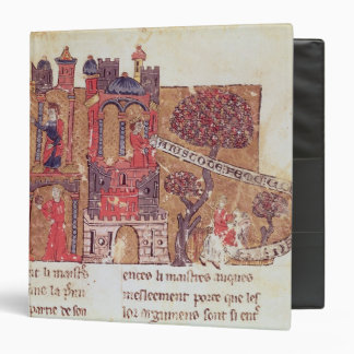 Aristotle instructs Alexander the Great in 3 Ring Binder