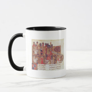 Aristotle instructs Alexander the Great in Mug