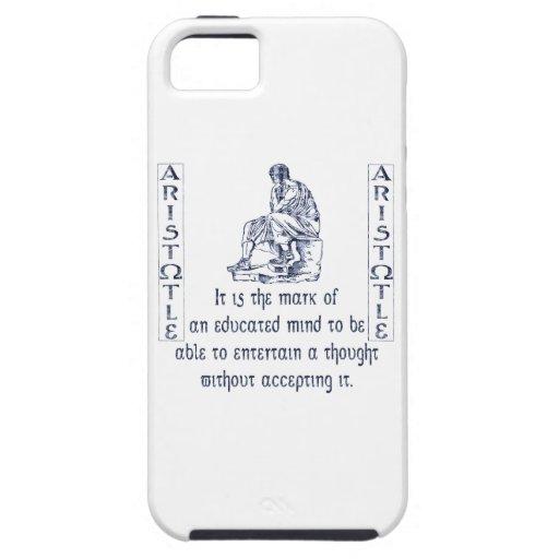 Aristotle iPhone 5 Covers