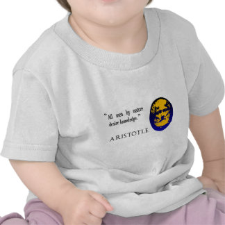 Aristotle knowledge tshirt
