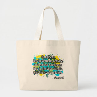 Aristotle Large Tote Bag