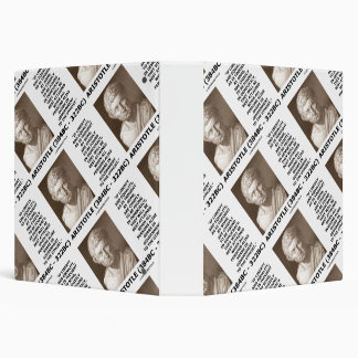 Aristotle Liberty Equality Democracy Share In Govt 3 Ring Binder