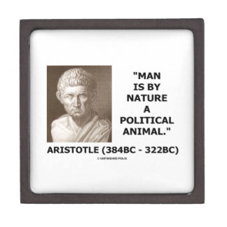 Aristotle Man Is By Nature A Political Animal Gift Box