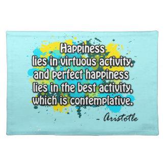 Aristotle Placemat