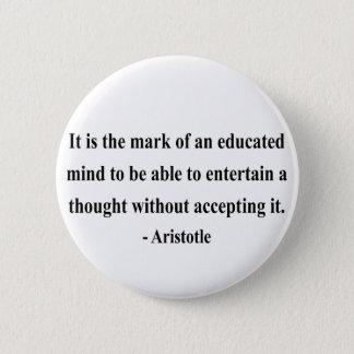 Aristotle Quote 1a Button
