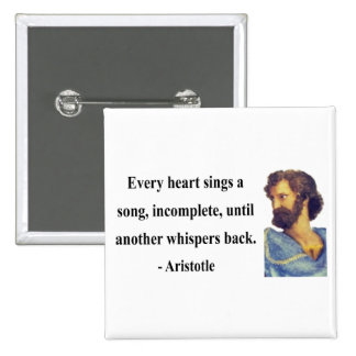 Aristotle Quote 3b Pinback Button
