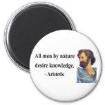 Aristotle Quote 6b Refrigerator Magnet