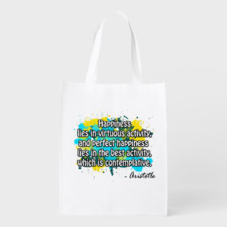 Aristotle Reusable Grocery Bags