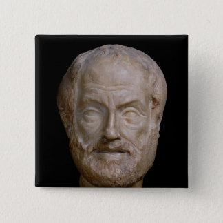 Aristotle  Roman copy of a Greek original Button