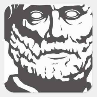 Aristotle Square Sticker