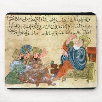 Aristotle teaching mouse pad