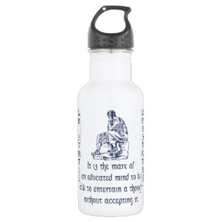 Aristotle Water Bottle