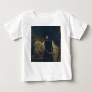 Aristotle with a Bust of Homer by Rembrandt Baby T-Shirt