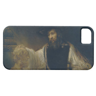 Aristotle with a Bust of Homer by Rembrandt iPhone 5 Cover