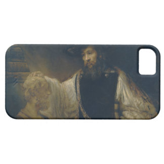 Aristotle with a Bust of Homer by Rembrandt iPhone 5 Case