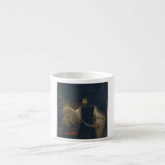 Aristotle with a Bust of Homer by Rembrandt Espresso Cup