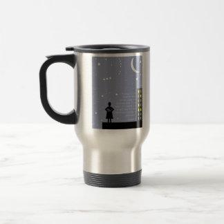Aristotle's Mastery of Self Travel Mug