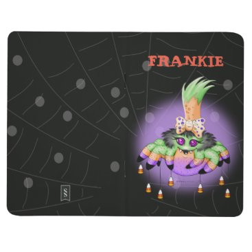Halloween Themed ARITETTE SPIDER HALLOWEEN Pocket Journal Blank