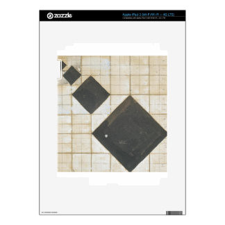 Arithmetic composition by Theo van Doesburg iPad 3 Decals